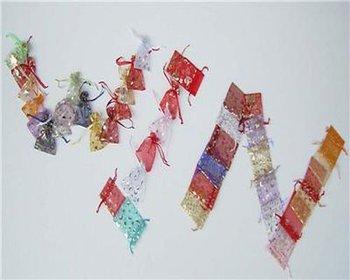 beautiful  9*12cm fashion  top selling  wholesale organza bag