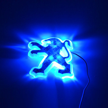 Super cheap   PEUGEOT 206 The logo of Led  light