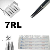 7RL tattoo needle 50pcs/lot free shipping, round liner tattoo needle