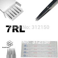 7RL tattoo needle 50pcs/lot free shipping, round liner tattoo needle