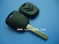 High quality Citroen C3 transponder key shell, Citroen key cover
