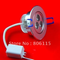 free shipping Sample offer! 9W dimmable LED downlight (equivalent 50W halogen light)with CE RoHS