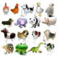 freeshipping walking pet balloon,walking balloon,walking animal balloon