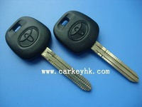 Top quality Toyota transponder key with 4D67 chip