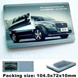 Customized LOGO Design, 1GB-16GB, Credit Card USB Flash Memory Drive, Free Shipping!