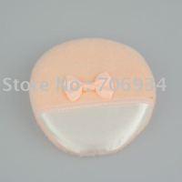 Face and Body Powder Puff Short hair Color glove Powder Puffs 20pcs /bag 85mm