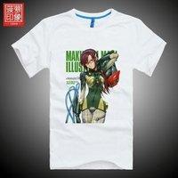 EVA T-shirt Evangelion real hippo short-sleeved clothes surrounding DOTA