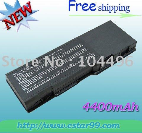 Free Shipping & 6Cell BATTERY For DELL Inspiron 6400 E1505 1501 GD761 KD476 11.1V 4400mAh(China (Mainland))