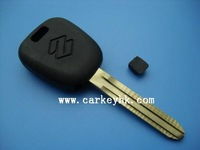 Promotional high quality Suzuki transponder key shell, car key shell wholesale and retail