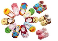 baby short socks, baby antiskid sock,in summer lovely 20pcs./lot