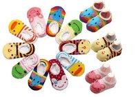 baby short socks, baby antiskid sock,in summer lovely 20pcs./lot