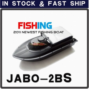 In stock ! 2011 Newest Fish Finder JABO-2B Remote Control Bait Boat