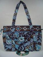 10pcs 100% Cotton Quilted Large Purse Mixed Color designs for Wholesale