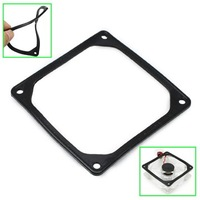 120mm PC Case Fan Black Silicone Shock Absorption Pad