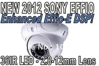 700TVL Sony Enhanced Effio-E EXVIEW II 36IR LED Dome CCTV 2.8-12mm