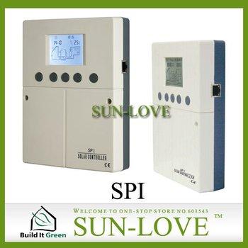 SPI Solar Controller,Solar Water Heater Controller,Solar Collector Controller,Pump Station Controller,110V/220V,TFT Display