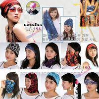 Fashion Variety of outdoor UV silk printed scarf wholesale multi magic scarf / Women's shawl free shipping
