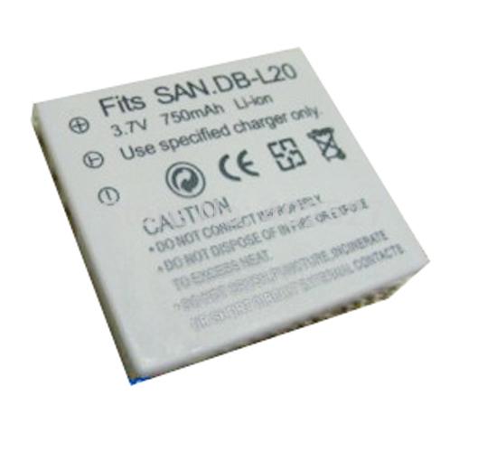 Аккумулятор для фотокамеры OTHER Sanyo db/l20 Xacti vpc/ca65 CG65 CA8 CA9 DBL20