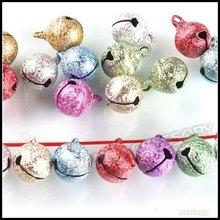 240pcs/lot Mixed Colors Small Jewelry Bells Findings, Christmas Decoration Jingle Bells 270007