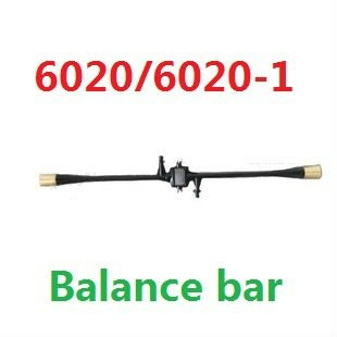 Free shipping 6020-1/6020 flybar balance bar spare parts for 19cm 3CH rc mini helicopter airplane 6020 SH6020-1 toys rc part