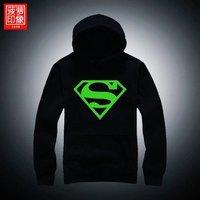 dota t-shirt Luminous guardian suit Superman Avenger Union men's creative power flow continually Hat shirt sleeve coat