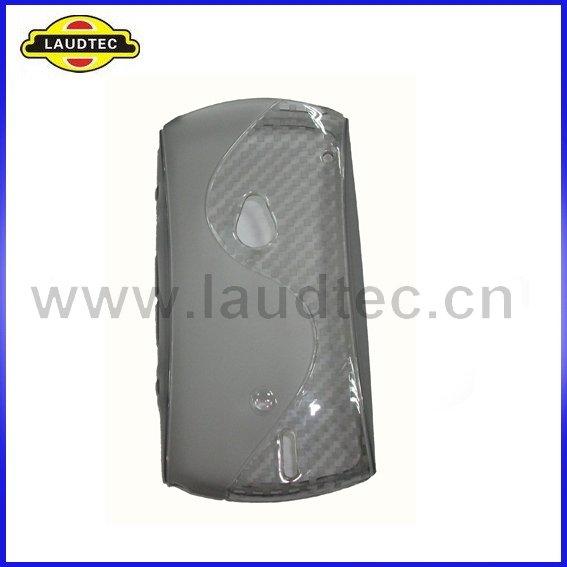 Grátis 50pcs frete / lote cor cinza S Tipo de Desenho TPU Case Capa Gel para Sony Ericsson Xperia Neo(China (Mainland))