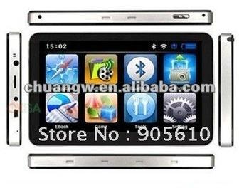"free shipping 2013  7""  CAR GPS  4G Mp3/Mp4"