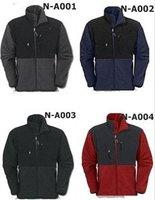 Wholesale Retail Fashion New  men's Denali Fleece  Jacket S M L XL XXL red black blue grey