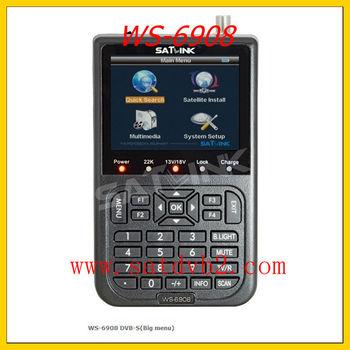 2005# Free shipping Signal meter satellite meter finder satellite finder meter WS 6908