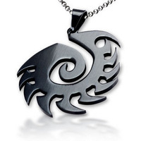 Free Shipping - Starcraft II 2 SC2 Zerg Necklace/Pendants/Badge -Titanium
