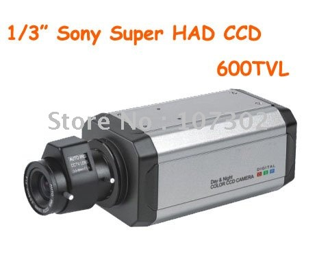 1/3'' Sony Super HAD 600TVL Color Box Camera(China (Mainland))
