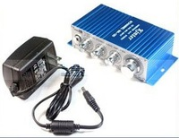 TOP QUALITY - Stereo Sound Audio Amplifier + 12 Power Adapter For MP3 with 12V 2A Power Adaptor EG2023