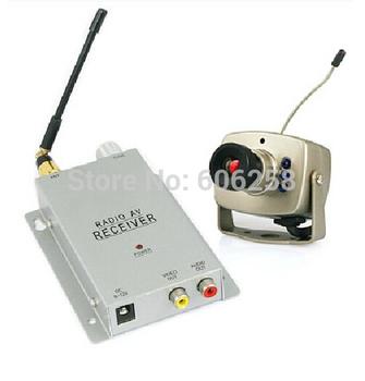 1.2G Wireless Night Vision Camera Kit  Transmitter Receiver Wireless Surveillance Cameras