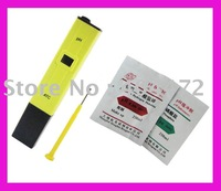 1pc free shipping Digital pH Meter Tester Hydroponic Aquarium w/ 2 Buffer,retail box, screw,english manual
