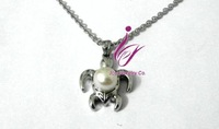 stainless steel pearl Pendant NecCustomize design available,for molds you can make some modifications,like the shape,color sizes