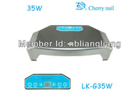 Wholesale Free shipping New product LED nail uv lamp LK-G35  two hands Nail dryer