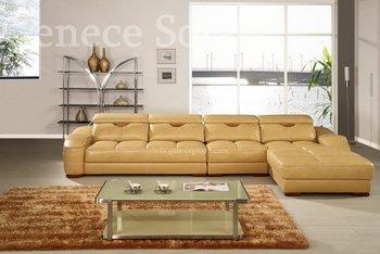 Genuine Leather Corner Sofa, Functional Office Sofa Best-selling