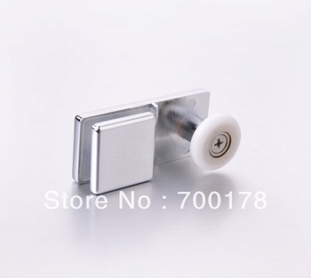 Zinc alloy single shower bath roller(HS093)