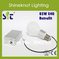 DC12V~36V 60W/85W E40 Electrodeless Discharge Lamp Outdoor Light Screw  220V Equaled to 150W Metal Halogen Lamp Better Than LED