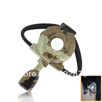 (8PCS)Freeshipping Army Style PS3 and PC Bluetooth Gaming Headset for FPS Games Camouflage