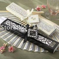 Free shipping  wedding favor fan(30pcs/lot) /gift fan wedding favors in Stock; Hot saling!