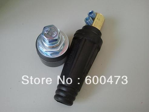 DKJ Series Black & Red Welding Cable Coupling(China (Mainland))