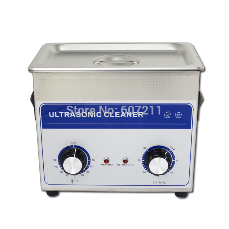Freeshipping! skymen ultrasonic cleaning strong power small parts ultrasonic degrease 3.2liter(China (Mainland))
