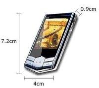 "16GB Slim 1.8""LCD MP3 FM Radio Player free shipping"