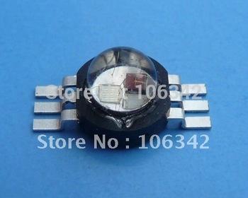 Wholesale 3watt Epistar Chip RGB High Power LED 30pcs/lot