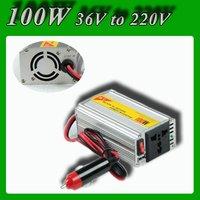 Meind Modified sine wave Car power inverter converter 100W power converter DC 36V to AC 220V With cigarette lighting