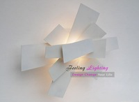 Discount Free shipping Hot Selling Wall Sconce Creative Light Wall Lamp Fixture White