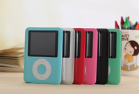 "100% NEW STYLE 4GB 1.8"" 3TH FM MP3 PLAYERS"