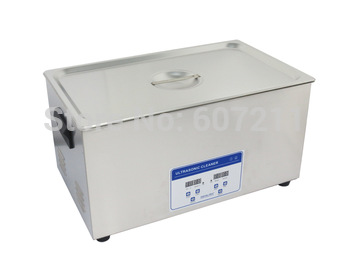 Freeshipping high Quality Ultrasonic Cleaner For Motor Parts Degrease, 22L ultrasonic degreaser