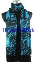 Free shipping! Wholesale 20pc 100% Cashmere Jacquard Scarves Wrap Stole Scarf Shawl  SA10